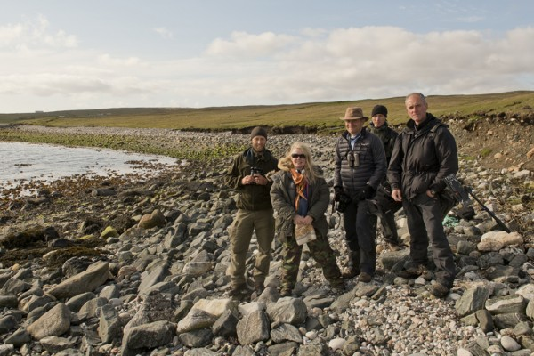 Grand Tour of Scotish Islands crew