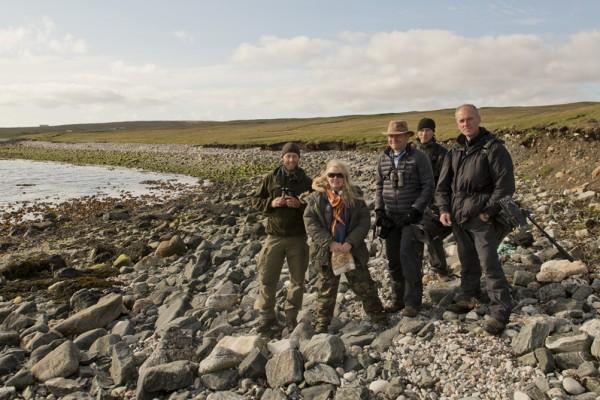 Grand Tour of Scotish Islands crew