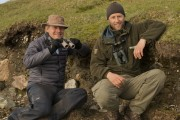 Brydon with Paul Murton, BBC's 'Grand Tour of Scottish Islands'